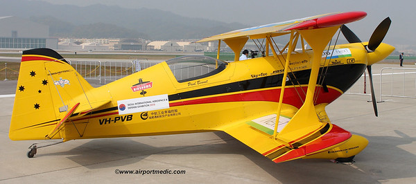 VH-PVB Pitts Special