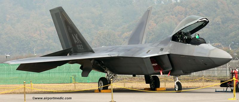 06-4122 Lockheed Martin F22A Raptor USAF