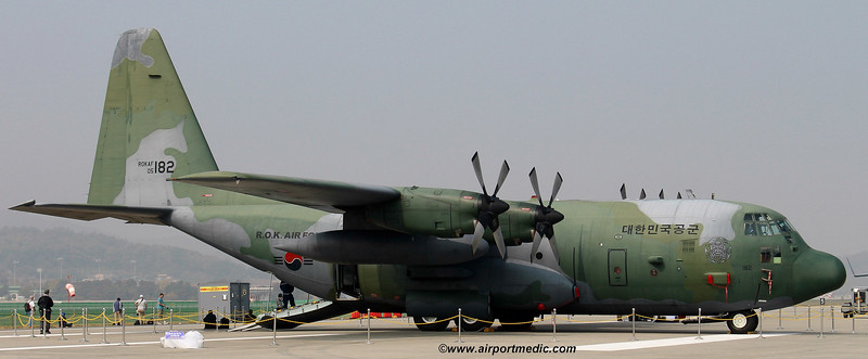 05-182 Lockheed C130H Republic of Korea Air Force