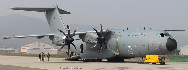 ZZ405 A400M RAF