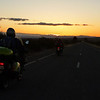 Border Run 2011 - Sunset heading towards Horrocks pass