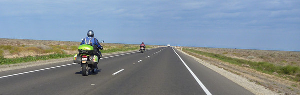 Border Run 2011 - Out on the Hay Plain