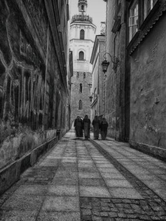 Graffiti nuns