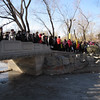 was trying to see yuan ming yuan in winter, expecting very quite and nobody there. but turn out like this..