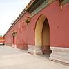 蔚林看着红墙一直念叨:故宫大盗石柏魁同学是如何翻过这10米高墙的,敬仰阿