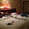 12点,终于回到娟给我们安排的房间,舒服暖和