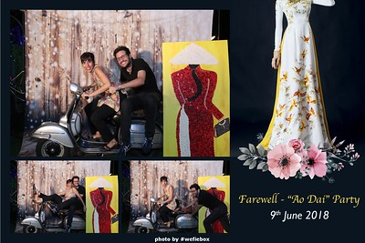 "Farewell - ""Ao Dai"" Party - Photobooth Saigon"
