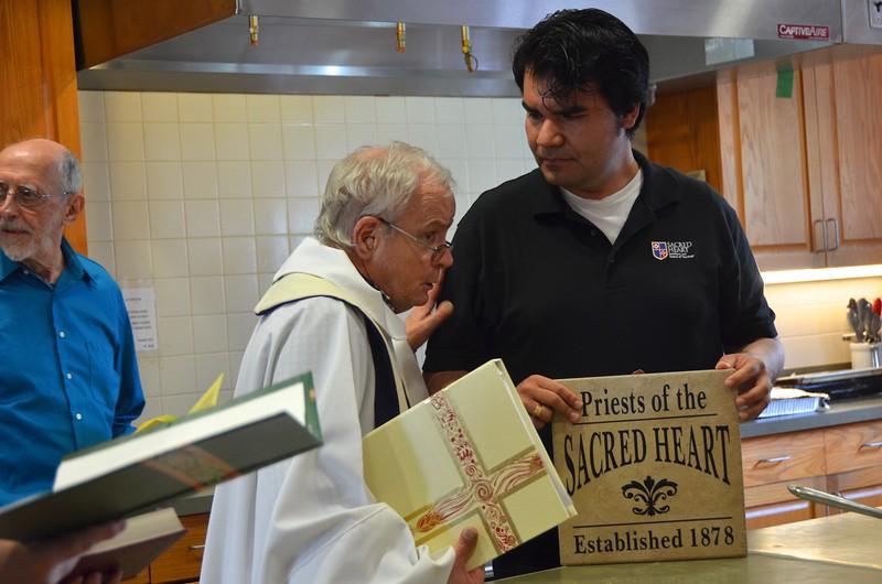 Fr. Bob and Angel