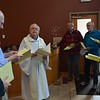 Fr. Bob leads opening prayers