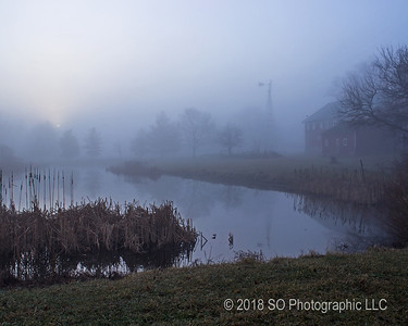 Foggy Sunrise over the Pond
