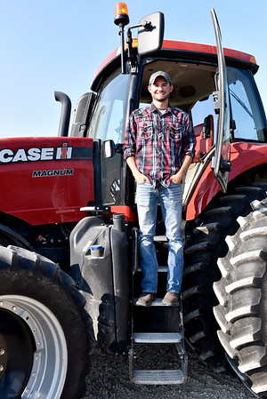 Bryce Buzzard, 2017 graduate from Beecher City High School, plans to continue his education at Lake Land College this fall and hopes to get into the University in Illinois, after two years at Lake Land, to get his Bachelors degree in Agricultural Business. Charles Mills photo