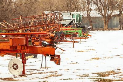 Winter Barnyard Storage