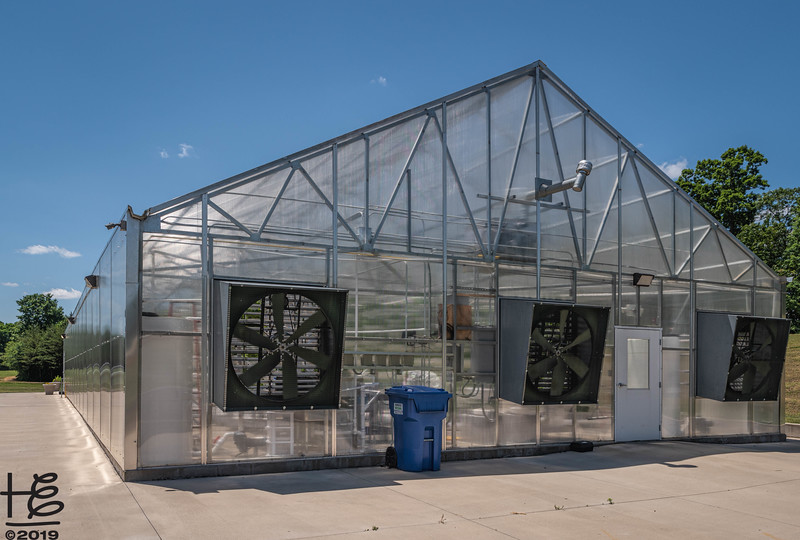 Hydronponics greenhouse