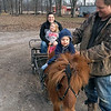 Becky, niece Harper, son Colton and dad Jake take Red Pony for a Sunday drive.<br /> Submitted by Rebecca Carter