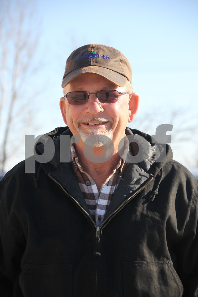 Seen here is: David Schmidt, one of several who attended the Farm News Ag Show and stopped to hear some of the special speakers on hand at the event.  On Wednesday, December 2, and Thursday, December 3, 2015, The Farm News Ag Show was held at the Iowa Central Community College East campus, in Fort Dodge.