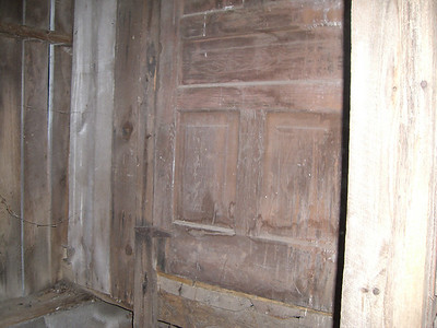 Old doors used for weddings and events!