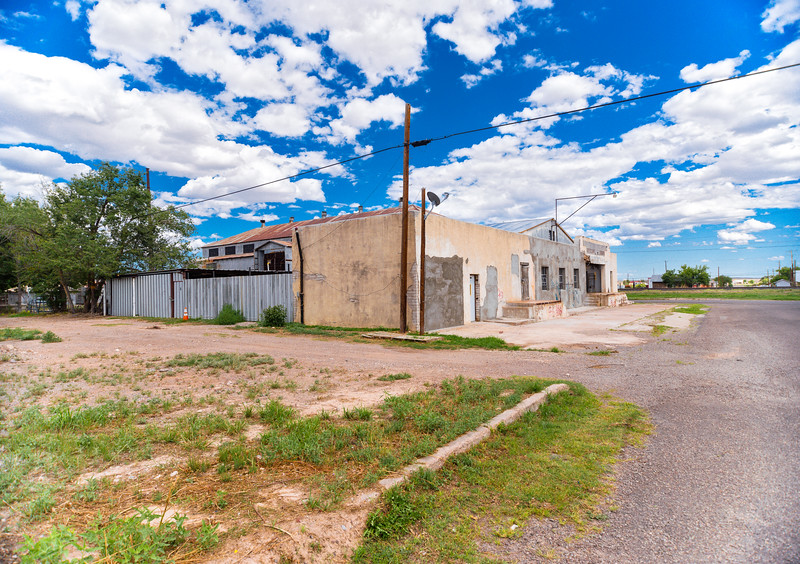 Empty lots and spaciousness abound in Marfa, TX.