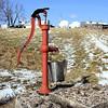 """The Weatherworn Little """"Red"""" Pump."""