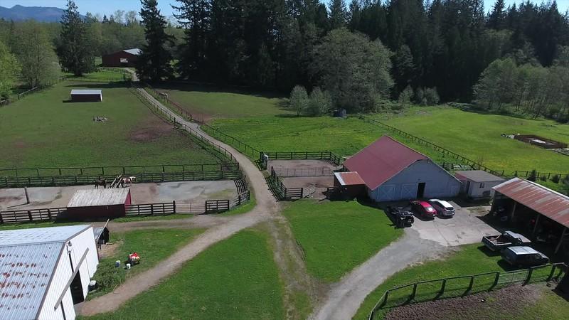 Farm Fly over