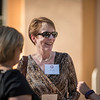 Diane Fossum and Tower Society guests enjoy the Farm to Table event at the Warrens Reception Center on Saturday, October 7, 2017 in Chico, Calif.<br /> (Jason Halley/University Photographer)