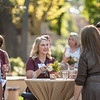 Tower Society guests enjoy the Farm to Table event at the Warrens Reception Center on Saturday, October 7, 2017 in Chico, Calif.<br /> (Jason Halley/University Photographer)