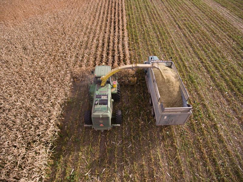 LeBlanc-Corn Silage Aerial-8853