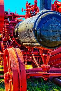 old steamer brightened