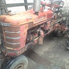 """1947 Farmall """"H"""" - It's in pretty good shape. I'd love to have it!"""