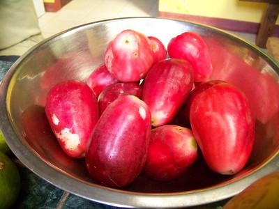 Manzanas de agua.
