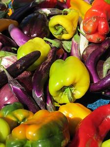 Ferry Plaza Farmers Market, San Francisco, California photo by Sara J. Marhenke