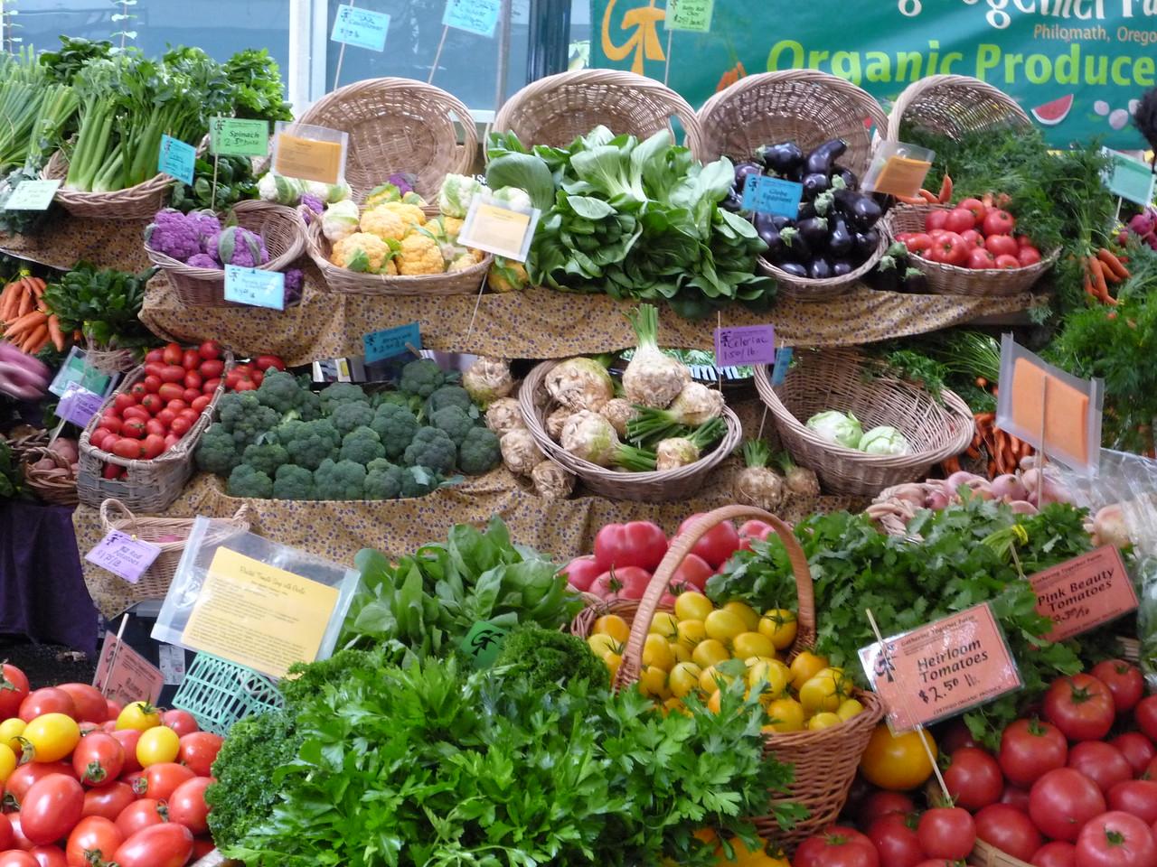 Portland Farmers Market.