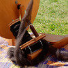 Spinning wheel. Fiber Twist, 9/16/12.