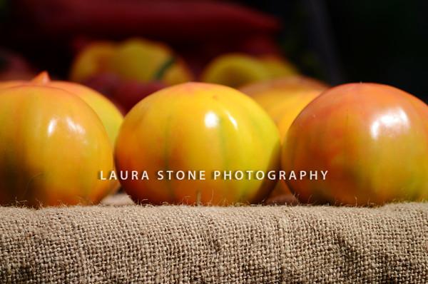Yellow Heirloom Tomatoes