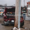 Farmingdale Car Vs Pole Merrits Rd  1-17-12-9
