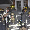 Farmingdale F D  Working Garage Fire Columbia St  1-10-12-4