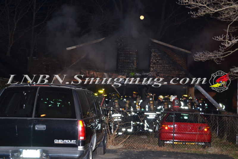 Farmingdale F D  Working Garage Fire Columbia St  1-10-12-1