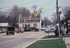 The house enters the intersection at Orchard Lake Road.