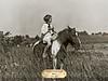 Pinto Pony with Brass Plate 24x18