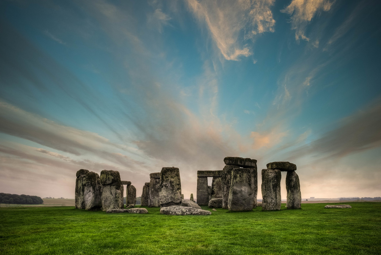 Clouds Above Stonehenge