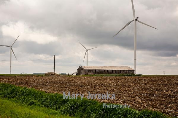 Old Barn in Greene County, Iowa