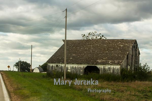 Old Barn in Boone County, Iowa