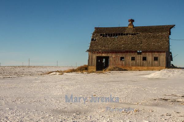 Weathered Barn in Polk County