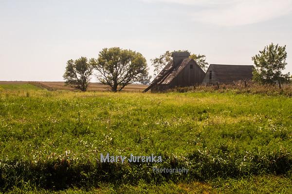 Old Barn near Ogden in Boone County, Iowa