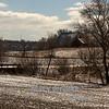 Winter fields in Tama County