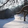 Lori's Barn in Snow