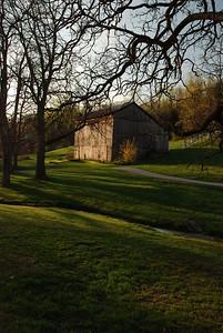 Lori's Barn in Spring