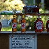 maple syrup stand<br /> Rhinebeck, NY