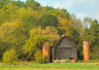 Old Vintage Barn near Logan Ohio