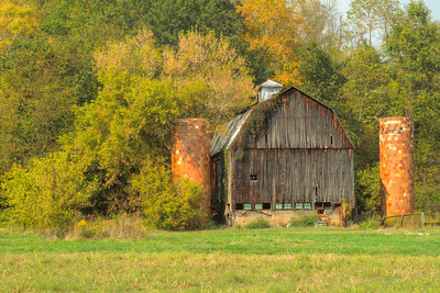Old Barn near Logan Ohio