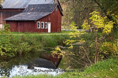 Autumn Reflections, Monroe County, Wisconsin